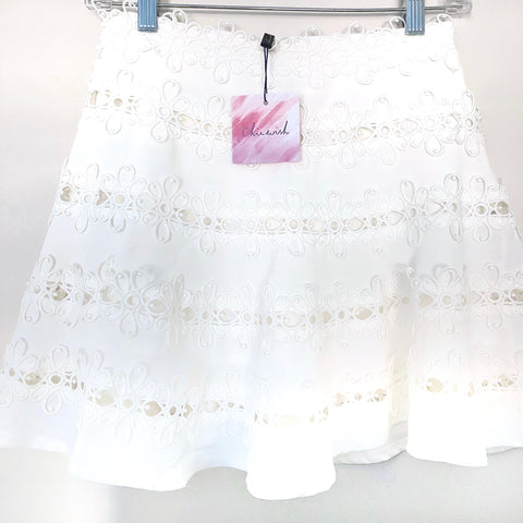 Chicwish Embroidered Skort NWT- Size XS
