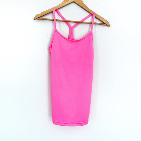 Champion Hot Pink DuoDry Racerback Workout Top- Size XS