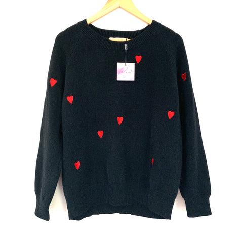 Chicwish Heart Sweater NWT- Size ~S
