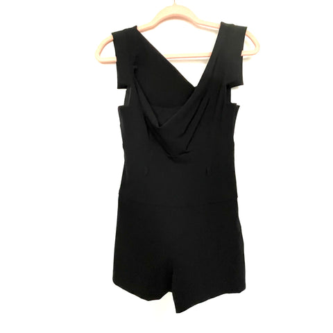 Black Halo Black Romper- Size 2 (see notes)