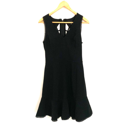 Adelyn Rae Black Zahara Cutout Fit and Flare Dress NWT- Size XS