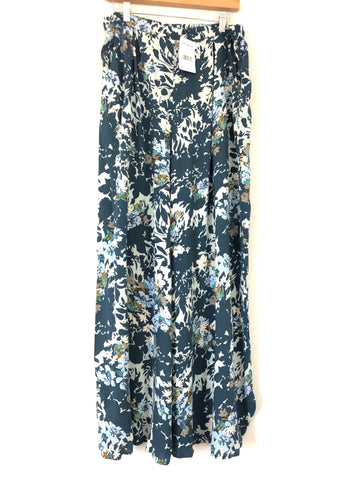 Free People Summer Floral Palazzo Pants NWT- Size L