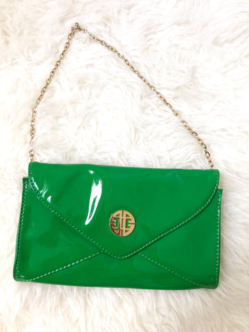 Antonio Melani Green Handbag