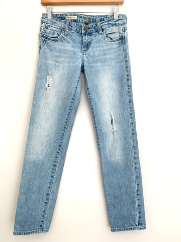 "Kut from the Kloth Catherine Boyfriend Jeans- Size 0 (Inseam 29"")"