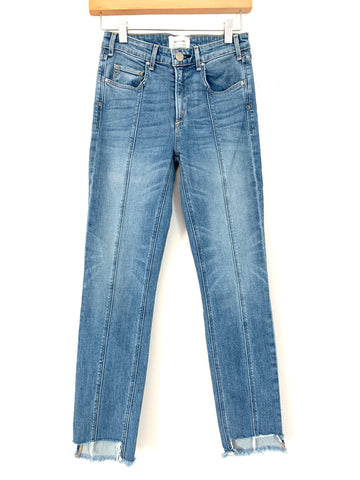 McGuire Skinny Jeans with Raw Hem- Size 25