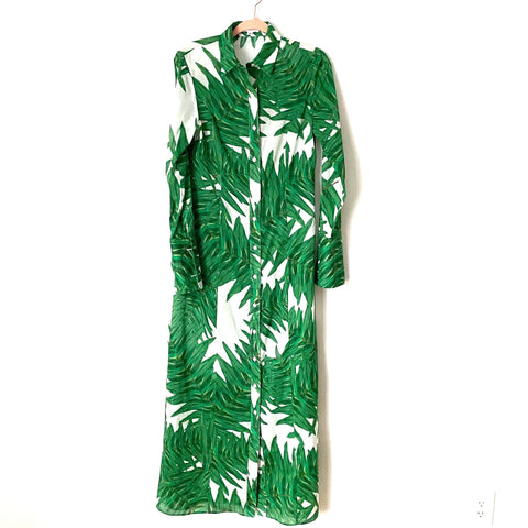 Ala Von Auersperg Palm Print Maxi Dress- Size 6 (see notes)