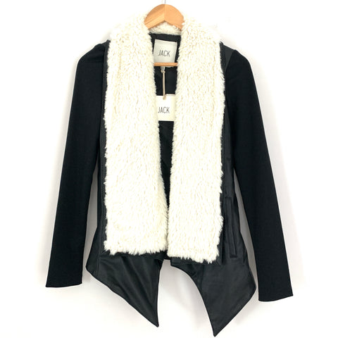 Jack by BB Dakota Faux Fur Henderson Jacket NWT- Size XS