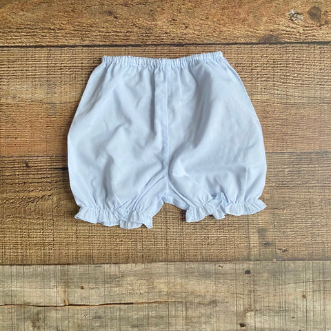 No Brand Blue Bloomer Shorts- Size 6M