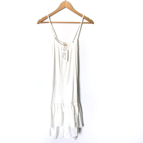 Grace & Lace Ivory Tiered Tunic (for layering) NWT- Size XS