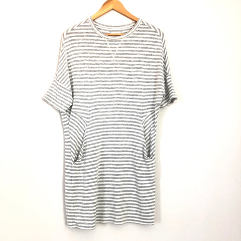 Lou & Grey Striped Dolman Sleeve Dress- Size XS