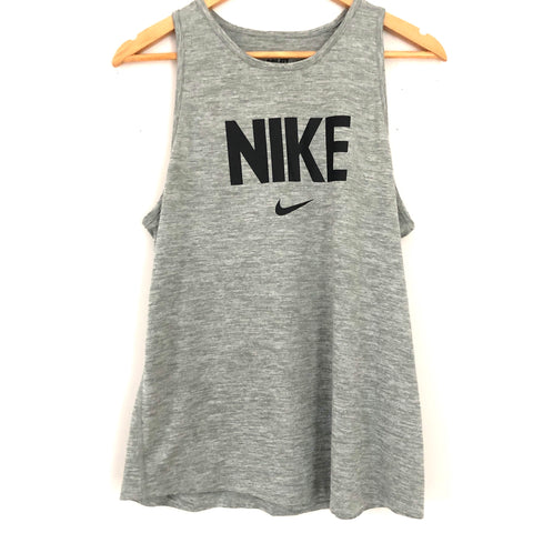 Nike Dry Fit Tank in Grey- Size M