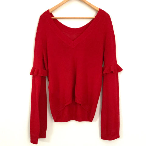 The Fifth Label Red Juno Knit Sweater NWT- Size S