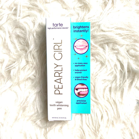 Tarte Pearly Girl Vegan Teeth Whitening Pen Nwt The Saved Collection
