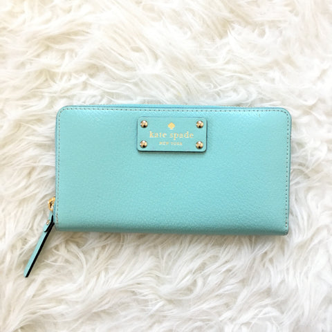 Kate Spade Blue Wallet NWT