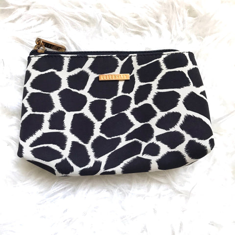 Celebrity Animal Print Cosmetic Zipper Pouch