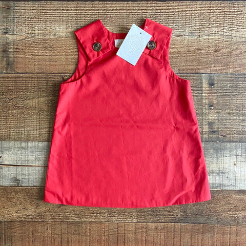 The Beaufort Bonnet Company Red Dress NWT- Size 18-24M
