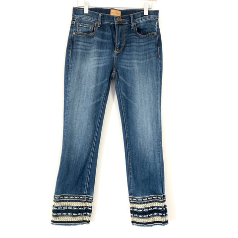 "Driftwood Colette Crop Jeans- Size 26 (Inseam 25"")"