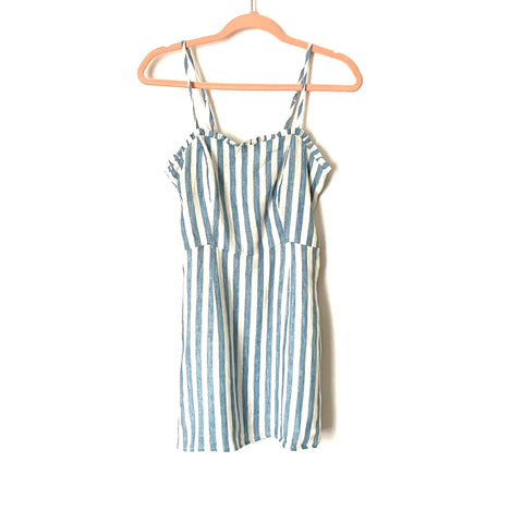 Vici Blue and White Striped Dress- Size S (Jana)