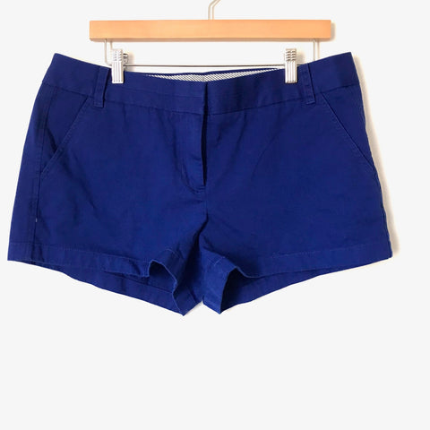 J. Crew Blue Chino Shorts NWT- Size 12