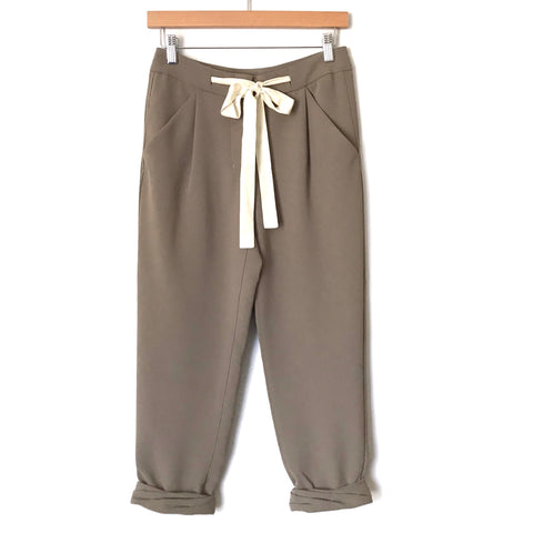 "Wilfred Green Cuffed Crop Pants- Size 00 (Inseam 22"", SEE NOTES)"