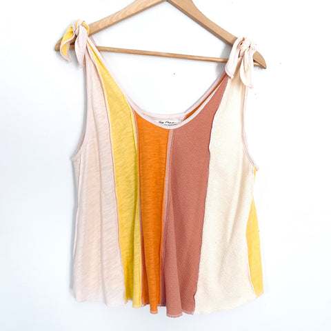 Free People Colorful Tie Strap Tank NWT- Size XS