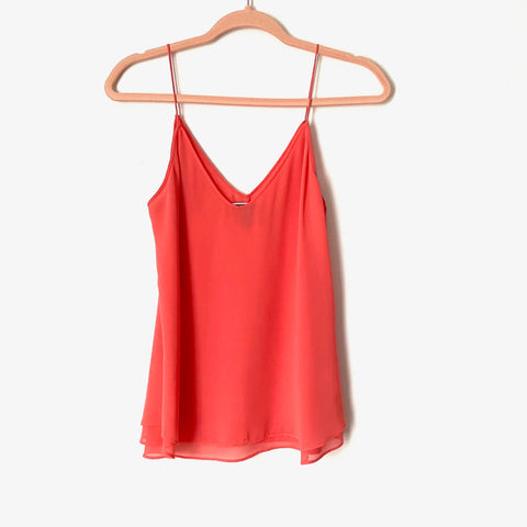 Chelsea 28 Bright Coral Tank Top - Size XS (Jana, see notes)