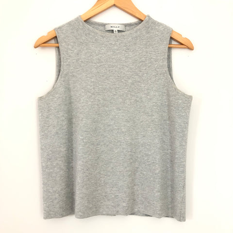 Milly Grey Sleeveless Sweater- Size S