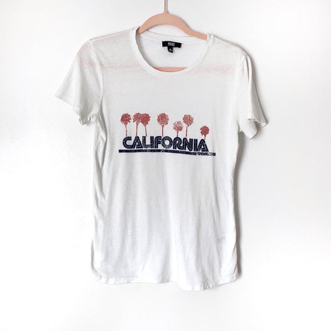 "Paige White ""California"" Graphic Tee- Size XS (Jana, see notes)"