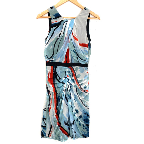 Diane Von Furstenberg Colorful Tank Dress- Size 0 (WORN TO THE MOVIE GUIDE AWARDS!)
