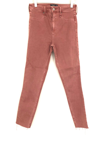 "Abercrombie & Fitch High Rise Ankle Jean Leggings- Size 26/2R (Inseam 25"")"