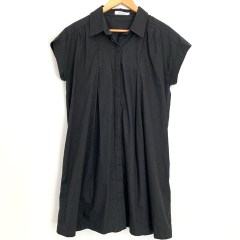 Mod Ref Black Button Up Dress-Size M