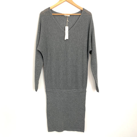 LoveStitch Grey Knit Dress NWT- Size S