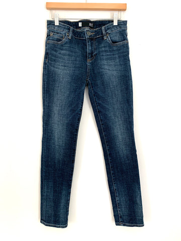 "Kut from the Kloth Catherine Boyfriend Dark Wash Jeans- Size 0 (Inseam 28"")"