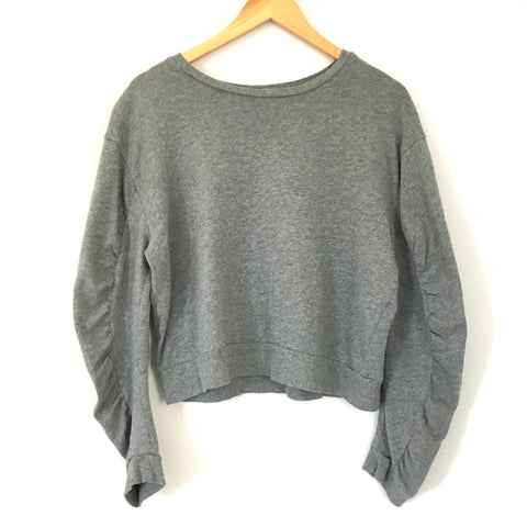 BP Grey Cropped Sweater- Size S