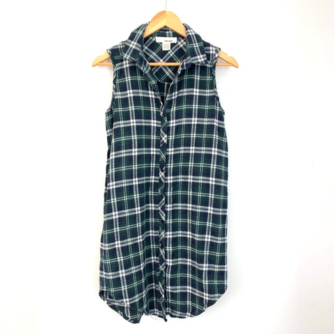 Sans Souci Plaid Tank Tunic Dress- Size M