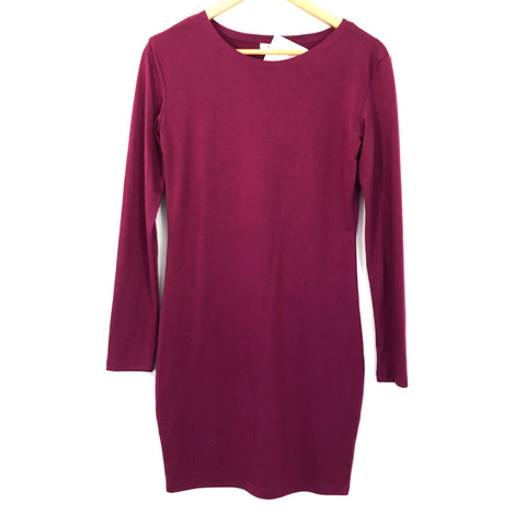Piko Power of Love Plum Dress NWT- Size S