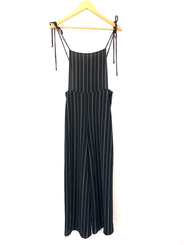 Carly Jean Black & White Jumpsuit/Overalls- Size S