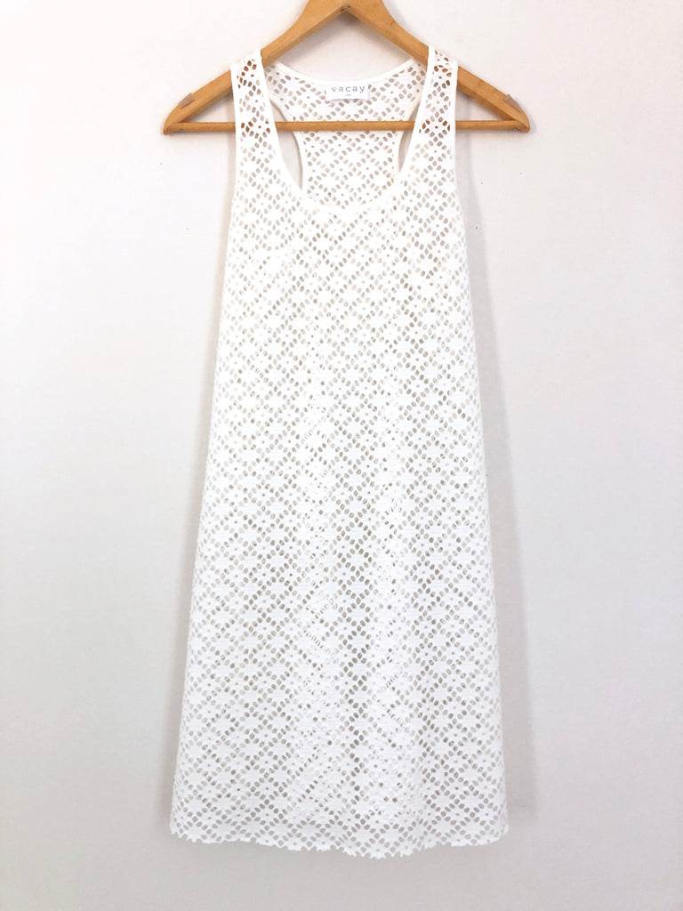 73008b7bdf Vacay Eyelet Beach Cover-up - Size XS/S – The Saved Collection