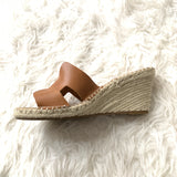 Steven by Steve Madden Eyrk Leather Espadrilles- Size 8.5