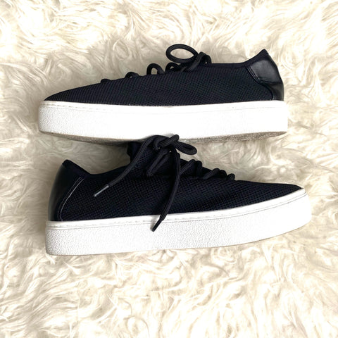 BP Black Platform Tennis Shoes- Size 8.5 (see notes)