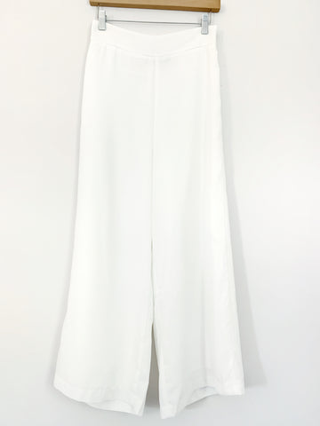 "Know One Cares High Waisted Wide Leg Crop Pants- Size S (Inseam 24"")"