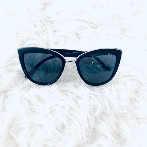 QUAY Black My Girl Sunglasses NWT