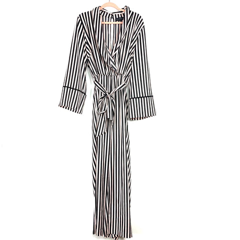 Eloquii Piping Trimmed Lounge Jumpsuit NWT- Size 14