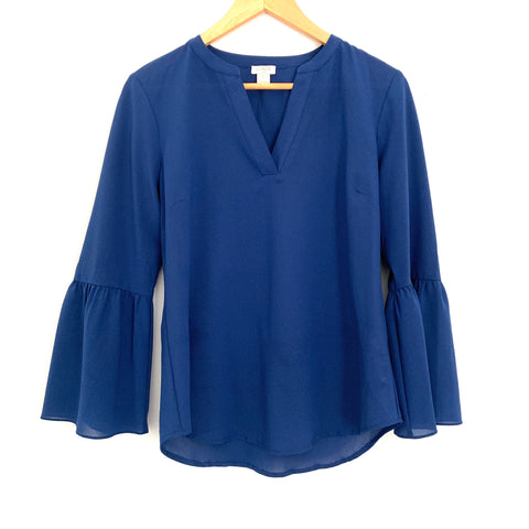 J Crew Bell Sleeve Blouse- Size XS