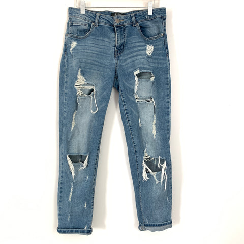 "April Jeans Distressed Jeans- Size 5 (Inseam 25"")"