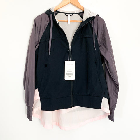 Fabletics Layered Jacket NWT- Size S (4-6)