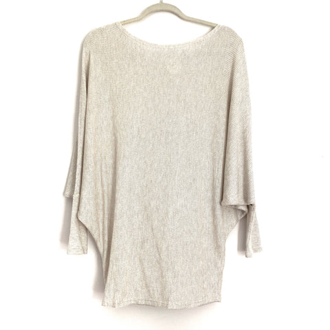 Fantastic Fawn Open Knit Dolman Sleeve Thin Sweater- Size S