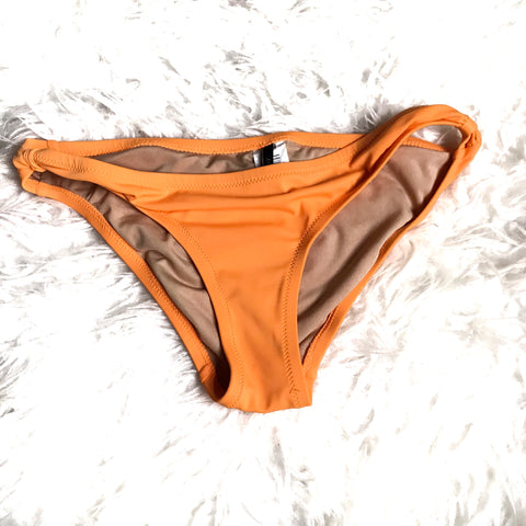 J Crew Orange Bikini Bottom- Size XS(BOTTOMS ONLY)