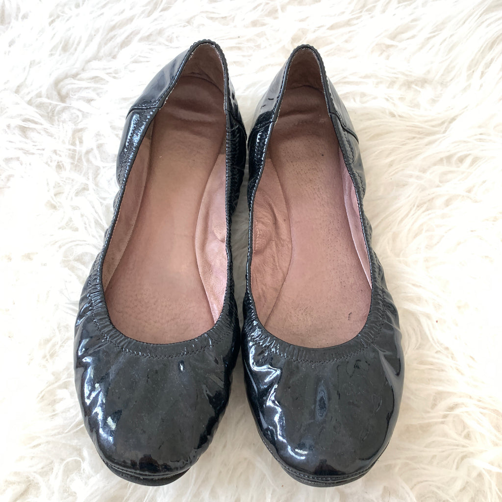 Vince Camuto Black Patent Leather