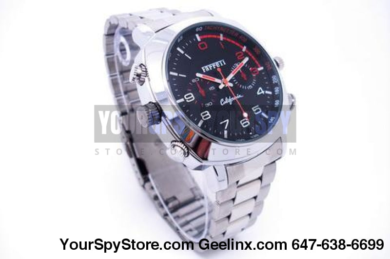 32Gb Watch Camera Hd 1080P - 2 Hours Battery Life Simple Design